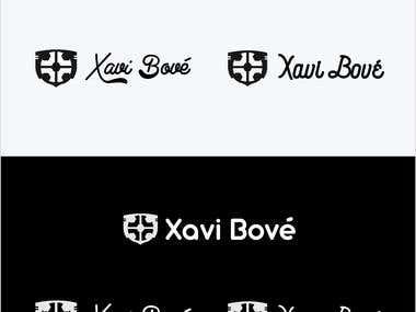 """Personal Brand Logo """"Xavi Bové"""""""