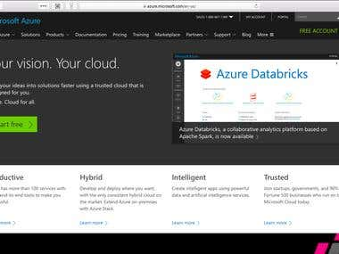 Microsoft Azure Configuration & Deploy