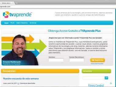 TVAprende site