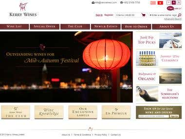 Magento eCommerce - Wines selling