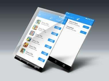 Game Usage App