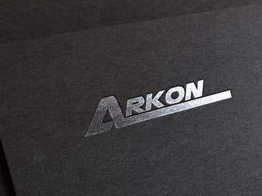 Arkon Logo Design