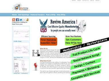 Innovative Web Development for a Manufacturing Marketplace