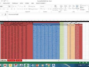 Excel- Seismic design