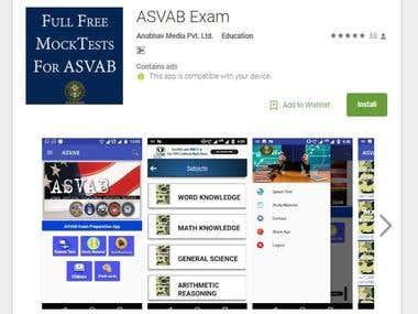 ASVAB Examer App