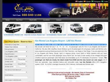 LAX Van Rentals