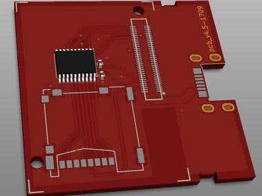 Intel Edison custom extension board