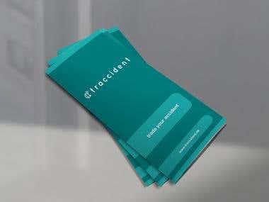 Minimalist Tri-fold Flyer