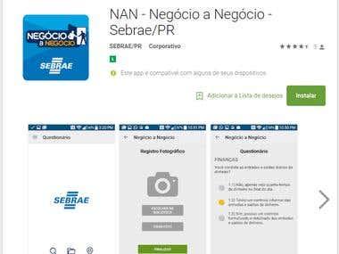 App NAN do Sebrae