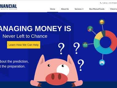SbFinancial - Wordpress Website