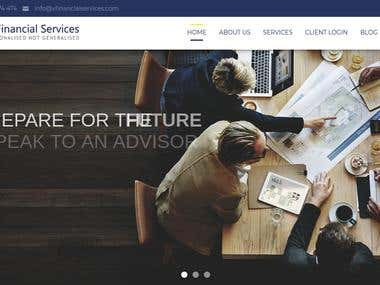 Wordpress Website for Financial Advisor
