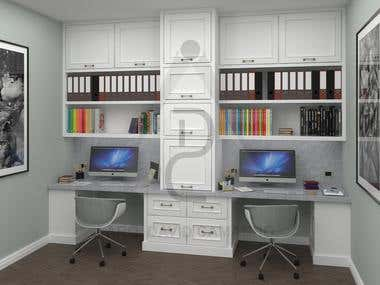 FURNITURE AND CABINET PROJECTS - 3D Modeling & CAD