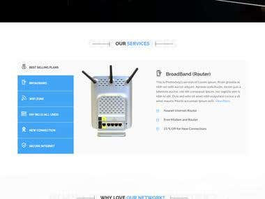 Broadband Website
