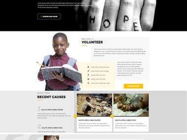 Hope Landing Page