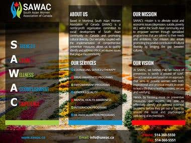 "Content for Canadian NGO ""SAWAC"" Pamphlet"