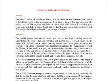 Law Translation