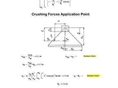 Mechanical Design of a Cone Crusher