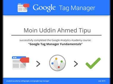 Google Tag Manager Fundamentals
