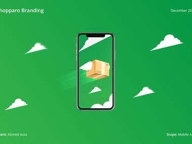 Shopparo proposal 1 | Branding