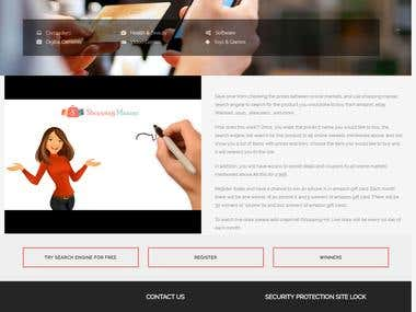 Responsive Website using Core PHP + WordPress