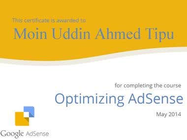 Google AdSense Certification