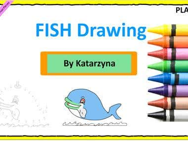 Flash Animation of Drawing & Painting Education