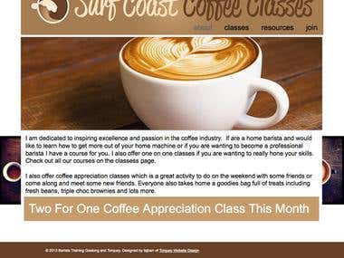 Surf Coast Coffee Classes