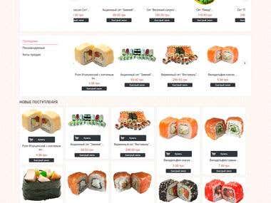Суши с доставкой на дом - festivalsushi.com