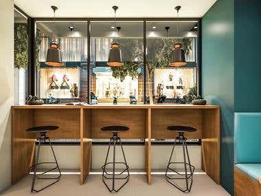 Restaurant // Coffee Shop Interior Design