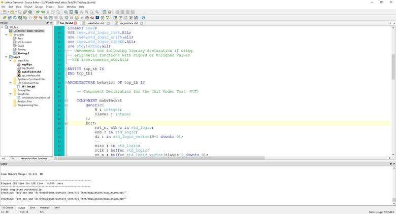 Lattice project for WIFI | Freelancer