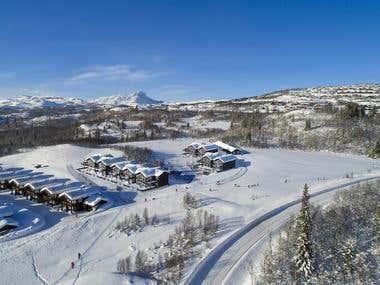 Winter Exterior Scene - Norway