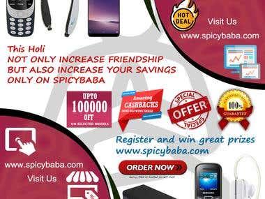 Flyer Design - SpicyBaba