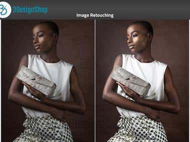 Image Retouching (Before and After)