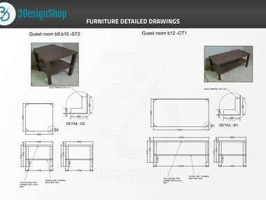 3D Furniture Modelling