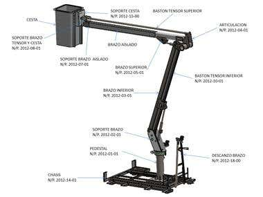 Articulated Aerial Boom