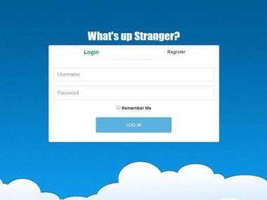 What's Up Stranger