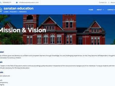 Sanatan Education - Online schooling platform