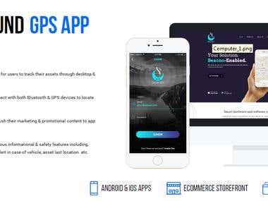 Beacon Tracking Mobile App