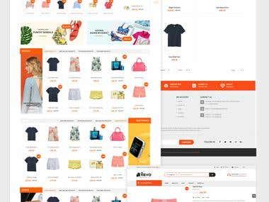 Website Design & Development Works