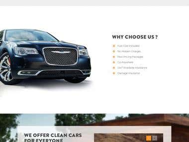 Prestige Hire Car Group mock up and now its Live link above