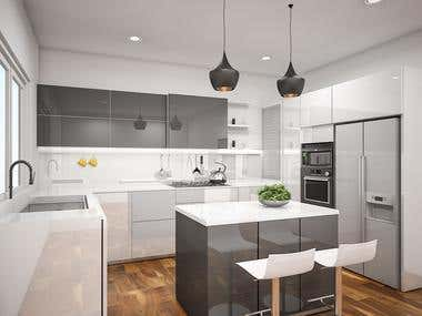 Residence Kitchen design