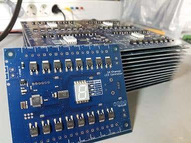 LED lights embedded controller