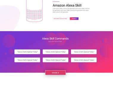 Alexa Skill Template