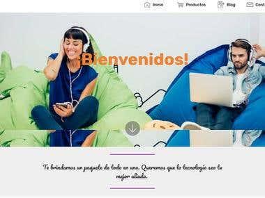 Página web netcytecnologia.com