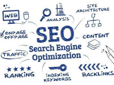 I will do SEO For Your Website Ranking.