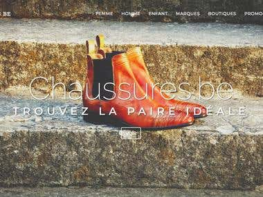 Chaussures.be - Online Shoe website