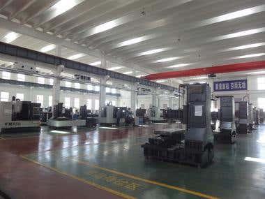 Final a CNC machine manufature and custmize the machine