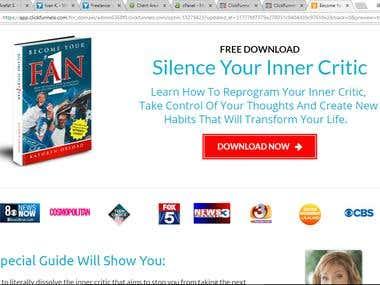 Clickfunnel Landing Page