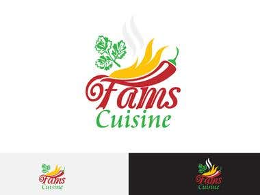 Fams Cuisine - Logo Design