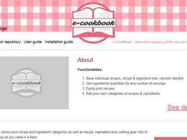 e-CookBook